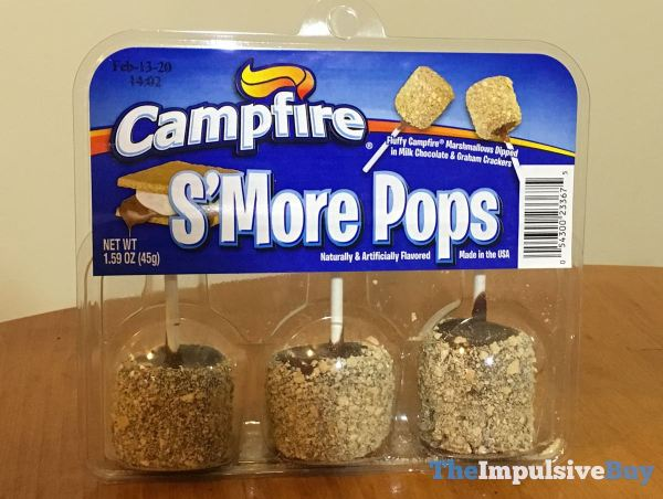 Campfire S more Pops