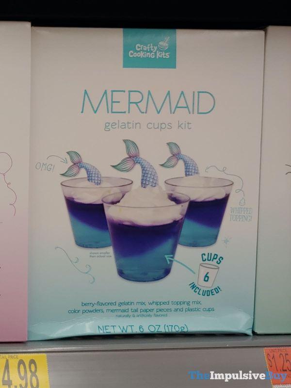 Crafty Cooking Kits Mermaid Gelatin Cups Kit