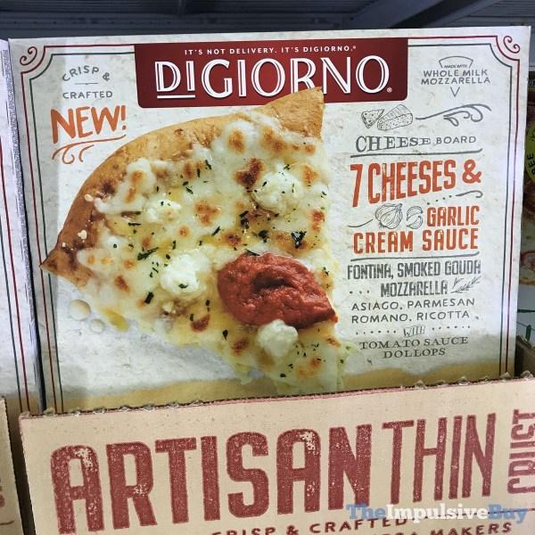 DiGiorno 7 Cheeses  Garlic Cream Sauce Artisan Thin Crust
