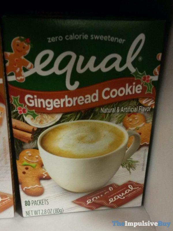 Equal Gingerbread Cookie Zero Calorie Sweetener