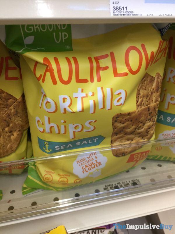 From the Ground Up Sea Salt Cauliflower Tortilla Chips