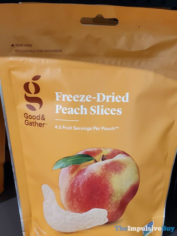 Good  Gather Freeze Dried Peach Slices