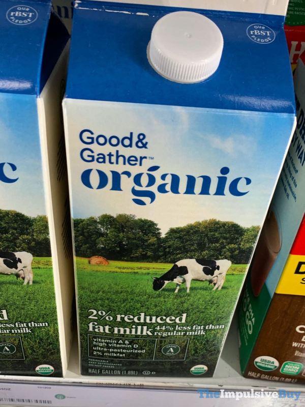 Good  Gather Organic 2 Reduced Fat Milk