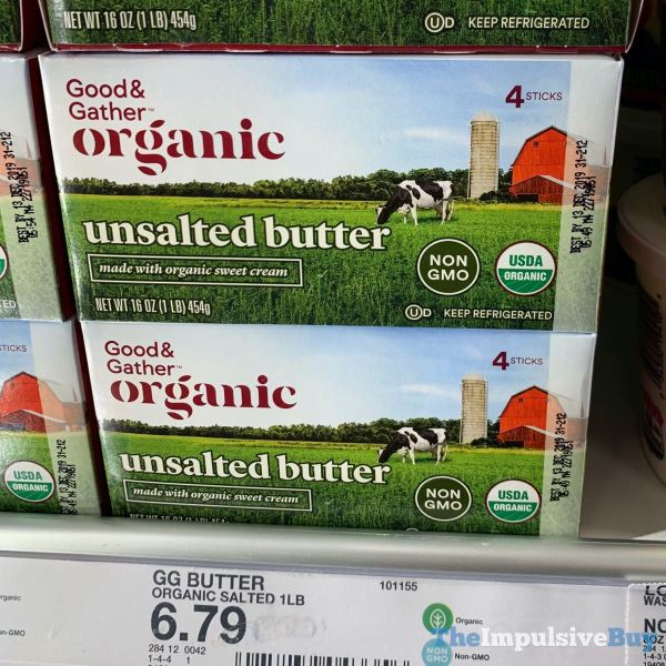 Good  Gather Organic Unsalted Butter