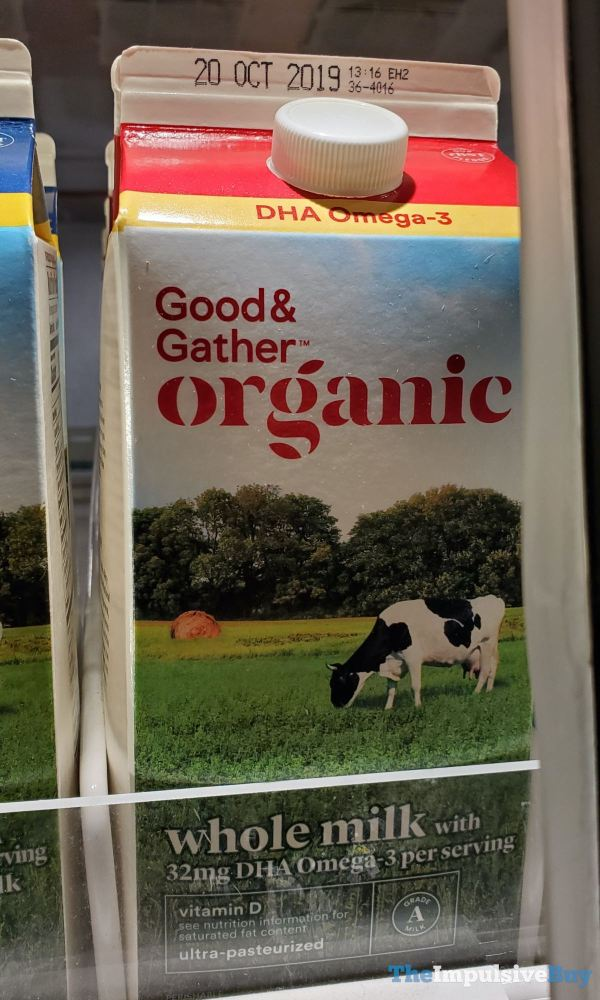 Good  Gather Organic Whole Milk with DHA Omega 3