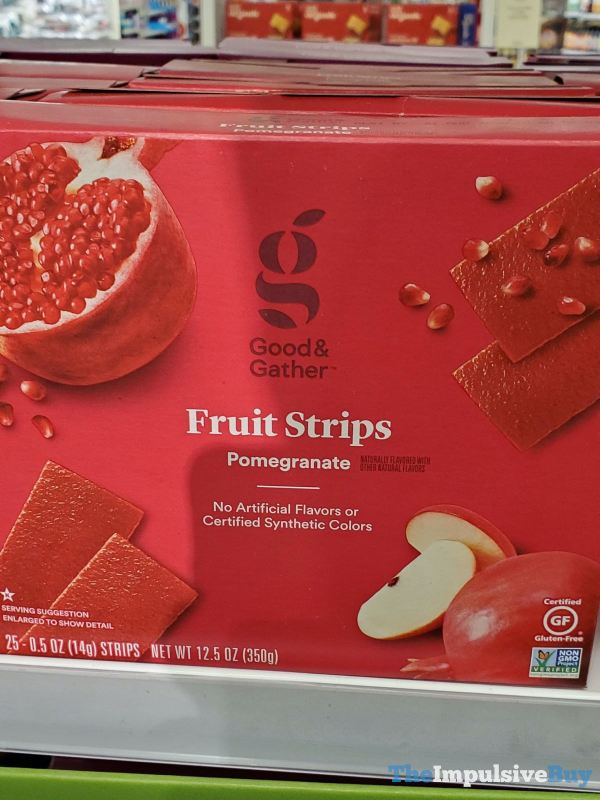 Good  Gather Pomegrante Fruit Strips