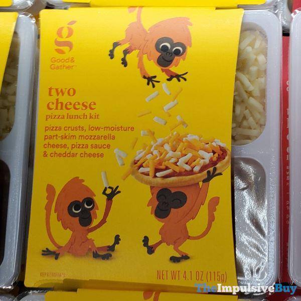 Good  Gather Two Cheese Pizza Lunch Kit
