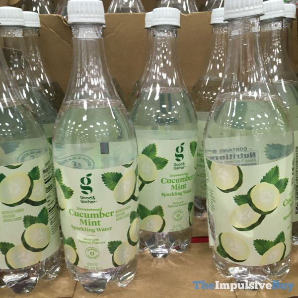 Good  Gather Unsweetened Cucumber Mint Sparkling Water