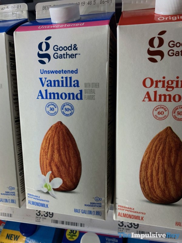 Good  Gather Unsweetened Vanilla Almondmilk