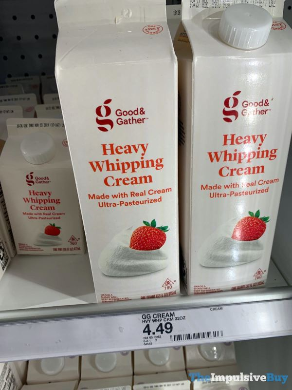 Good  Gather heavy Whipping Cream