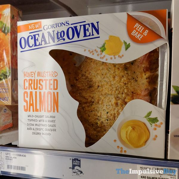 Gorton s Ocean to Oven Honey Mustard Crusted Salmon