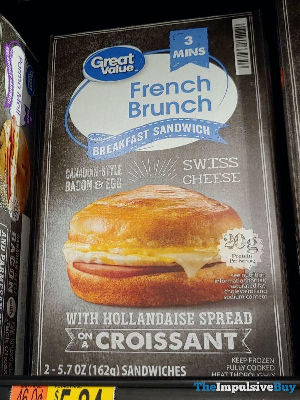 Great Value French Brunch Breakfast Sandwich
