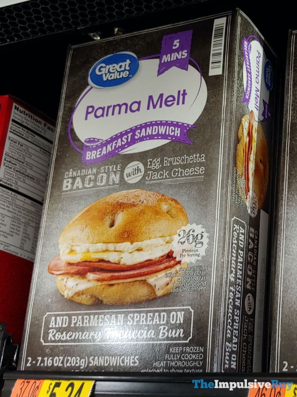 Great Value Parma Melt Breakfast Sandwich