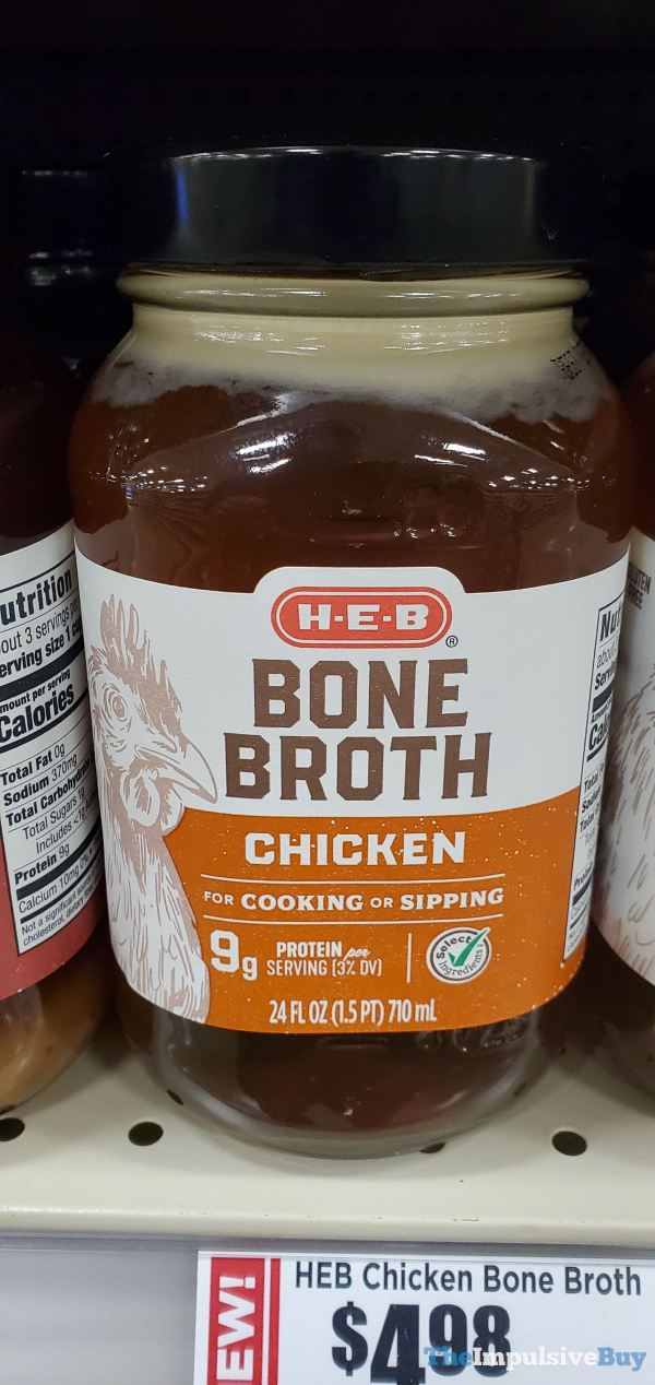 H E B Chicken Bone Broth