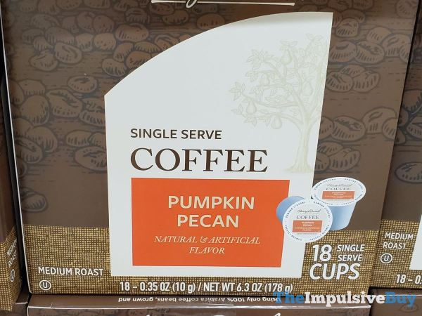 Harry  David Pumpkin Pecan Single Serve Coffee