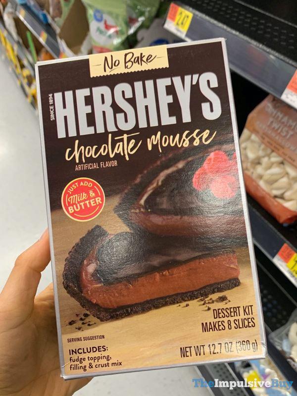 Hershey s No Bake Chocolate Mousse Dessert Kit