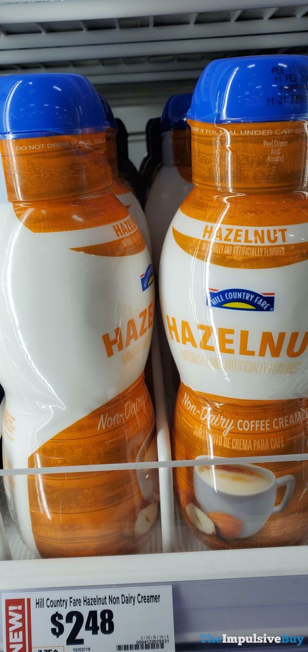 Hill Country Fare Hazelnut Coffee Creamer