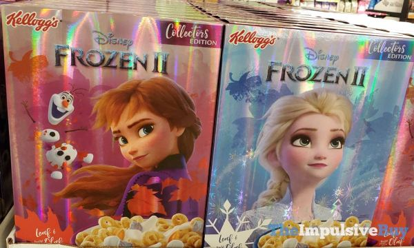 Kellogg s Collectors Edtiion Disney Frozen II Cereal