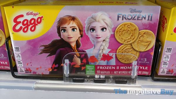 Kellogg s Eggo Disney Frozen Two Homestyle Waffles