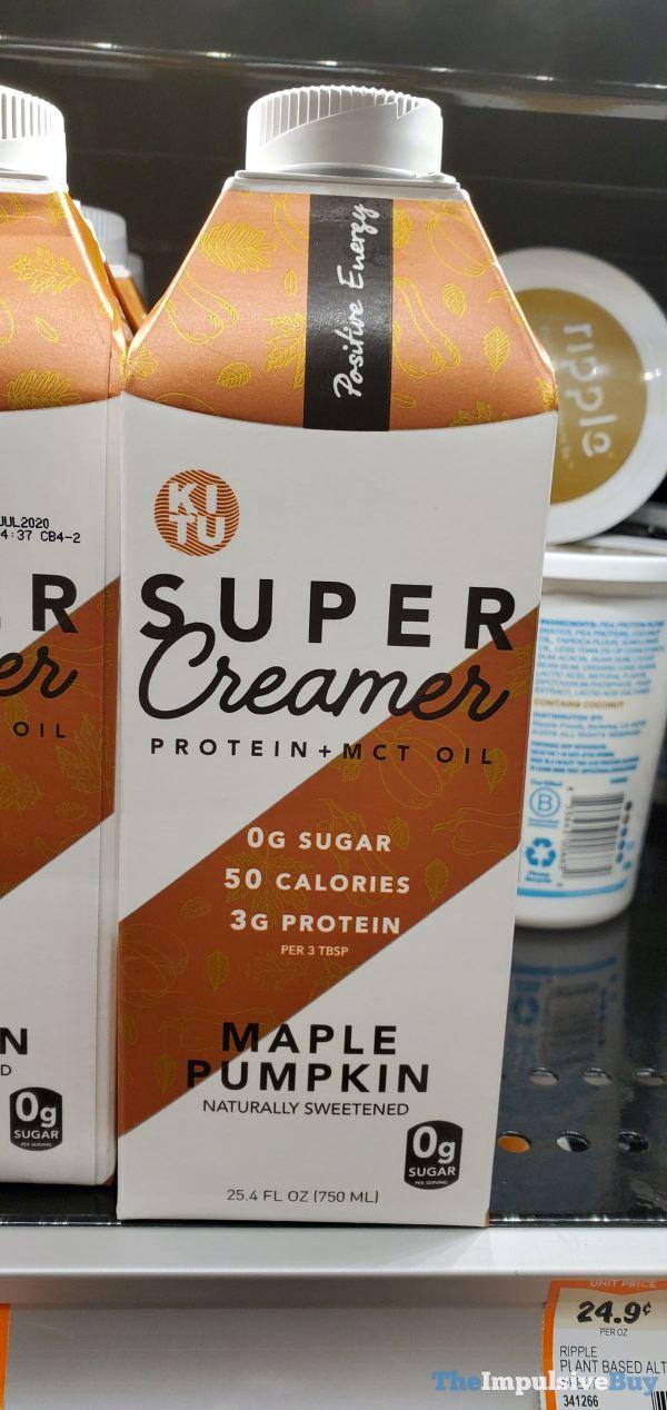 Kitu Super Creamer Maple Pumpkin