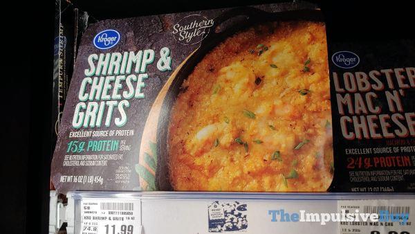 Kroger Shrimp  Cheese Grits