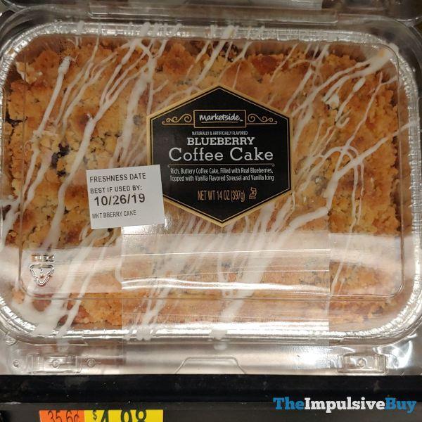 Marketside Blueberry Coffee Cake