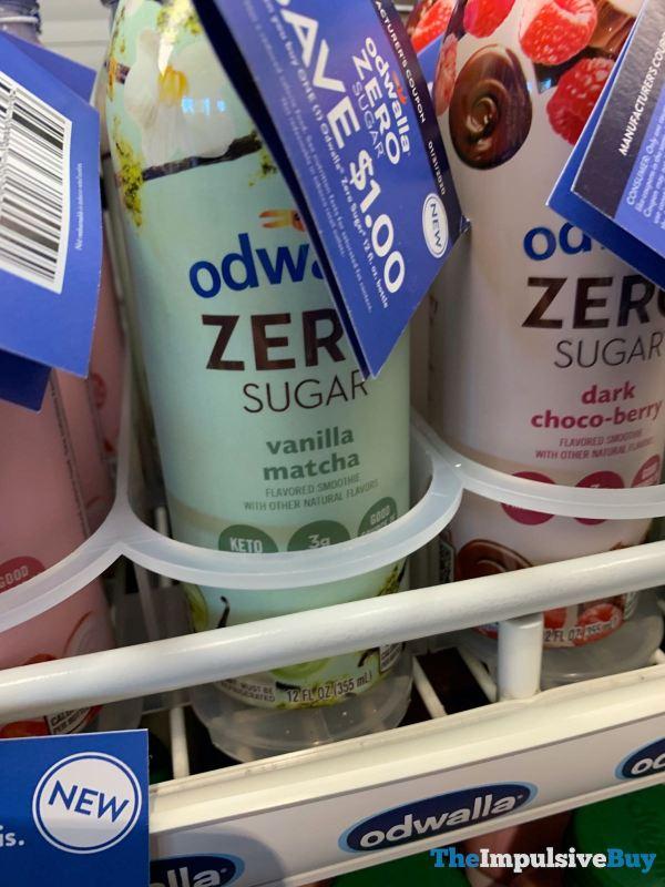 Odwalla Zero Sugar Vanilla Matcha