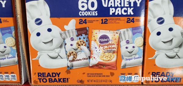 Pillsbury Cookie Dough Variety Pack