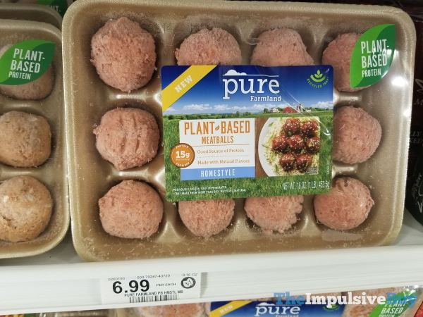Pure Farmland Homestyle Plant Based Meatballs