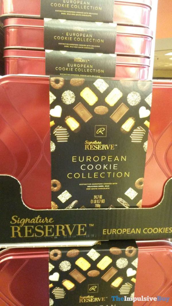 Safeway Signature Reserve European Cookie Collection