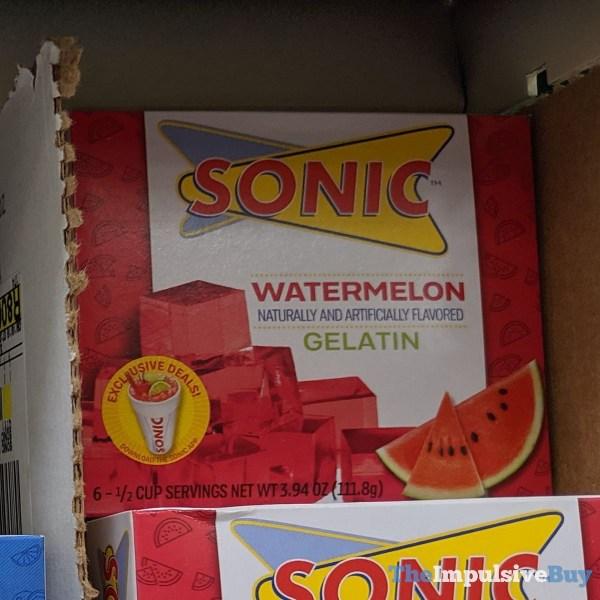 Sonic Watermelon Gelatin