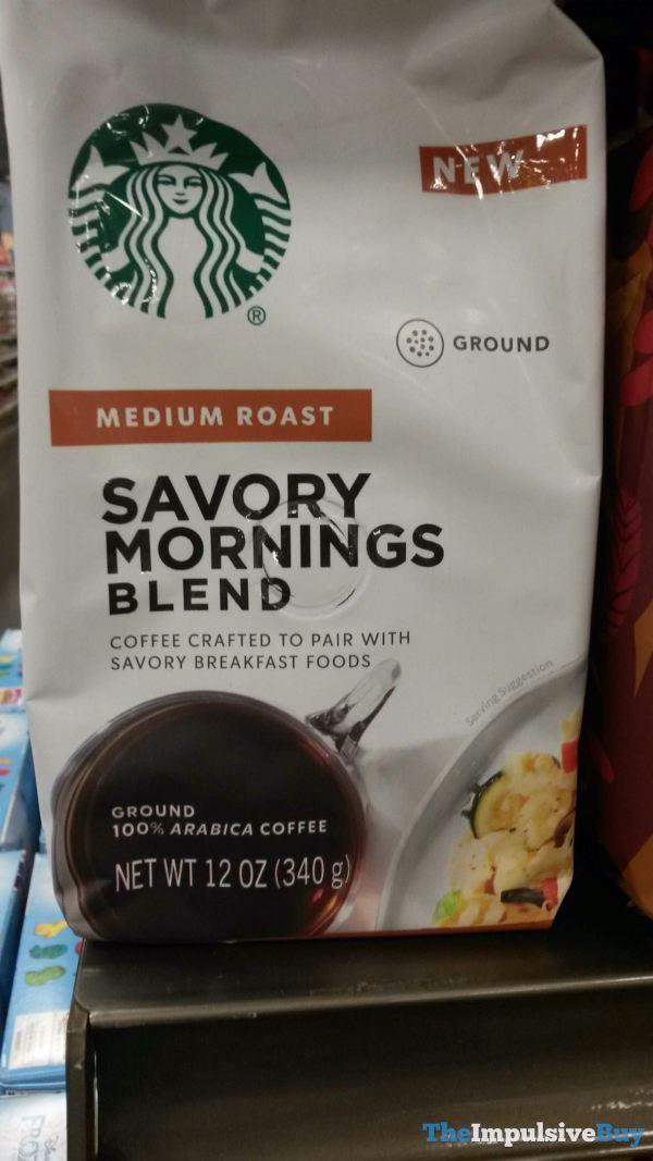 Starbucks Savory Mornings Blend Medium Roast