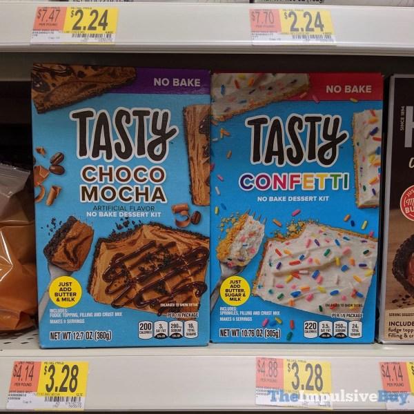 Tasty Choco Mocha and Confetti No Bake Dessert Kits