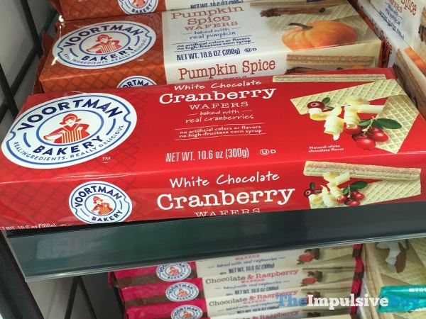 Voortman Bakery White Chocolate Cranberry Wafers