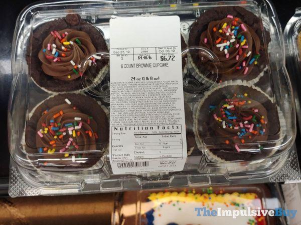 Walmart Brownie Cupcakes