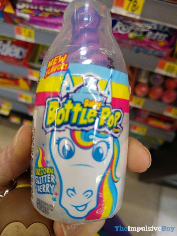 Baby Bottle Pop Unicorn Glitter Berry