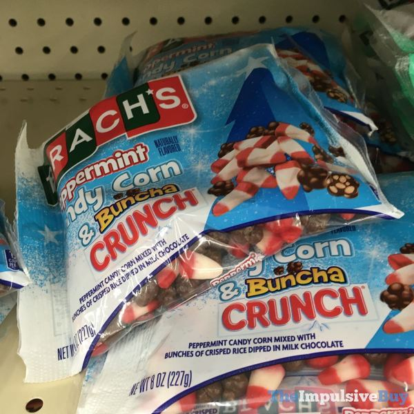 Brach s Peppermint Candy Corn  Buncha Crunch