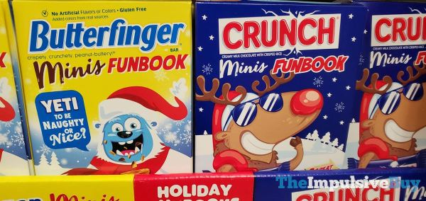 Butterfinger and Crunchy Minis Funbooks