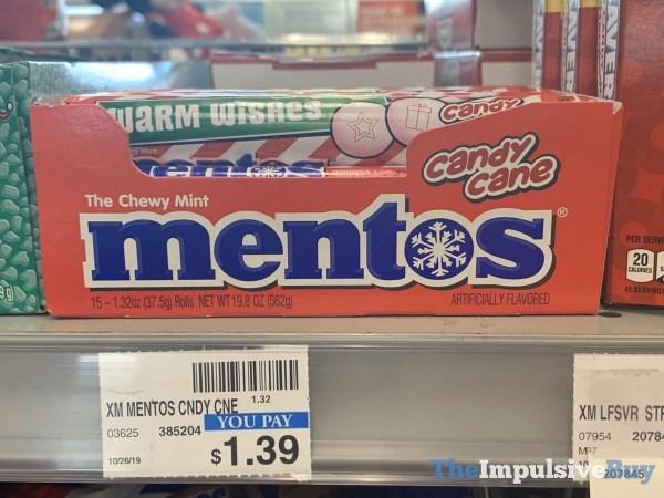 Candy Cane Mentos