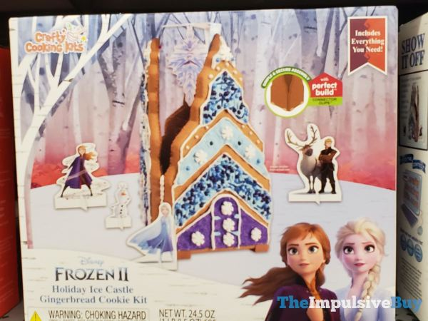 Crafty Cooking Kits Disney Frozen II Holiday ice Castle Gingerbread Cookie Kit