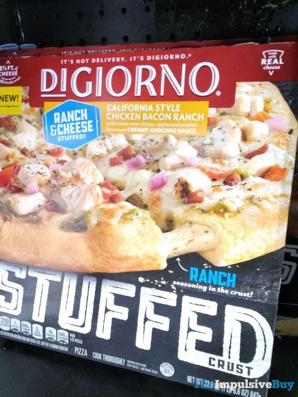 DiGiorno California Style Chicken Bacon Ranch Stuffed Crust Pizza