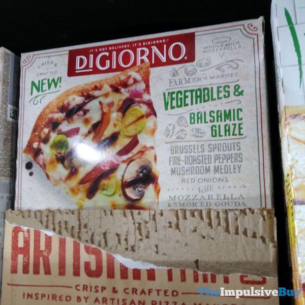 DiGiorno Vegetable  Balsamic Glaze Artisan Thin Crust Pizza