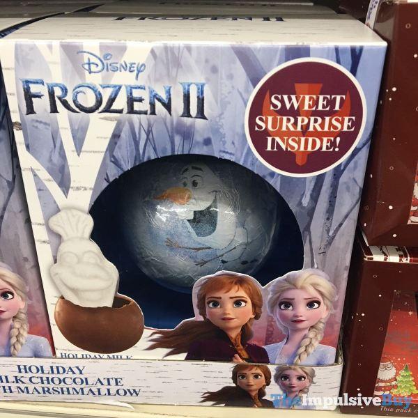 Disney Frozen II Holiday Milk Chocolate with Marshmallow