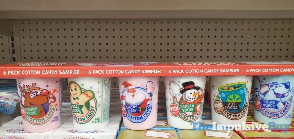Fun Sweets 6 Pack Cotton Candy Sampler