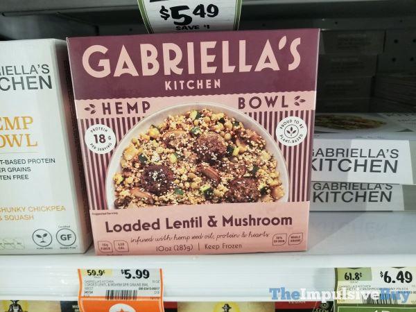 Gabriella s Kitchen Loaded Lentil  Mushroom Hemp Bowl