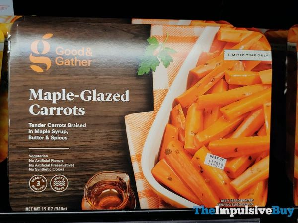 Good  Gather Maple Glazed Carrots