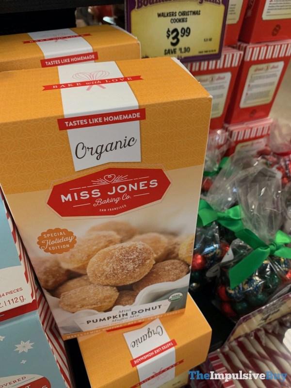 Miss Jones Baking Co Organic Mini Pumpkin Donut Muffin Mix