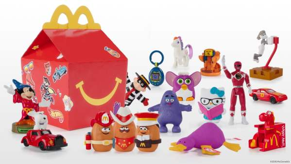 News Surprise Happy Meal