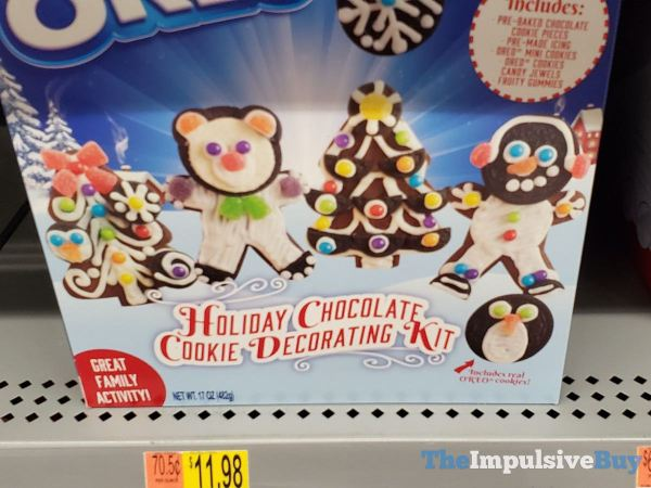 Oreo Holiday Chocolate Cookie Decorating Kit