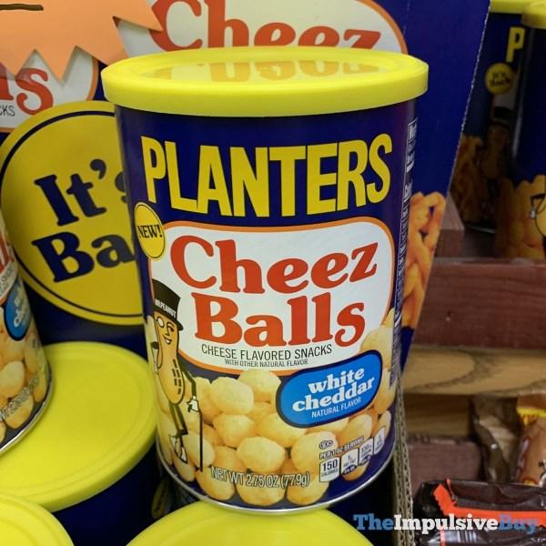 Planters Cheez Balls White Cheddar